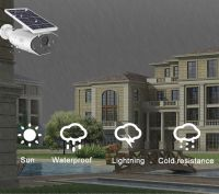 Tuya APP Remote Control Night Vision HD 1080P IP66 Smart WI-FI Solar Power Supply Outdoor Camera