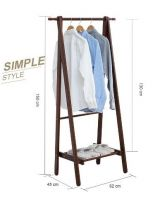 2019 Hot Selling Clothes Storage Wooden Hanger Stand