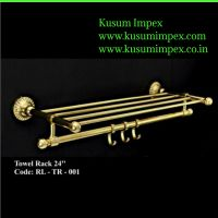 Chrome Plated Brass Towel Rack