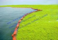 PVC fence boom from  Evergreen Properity in Chinese(Qingdao Singreat)