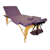 3 section wooden portable folding massage table