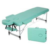 2 section aluminum portable folding massage table