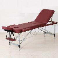 3 body aluminum portable massage table
