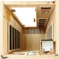 1 person hemlock far infrared sauna room