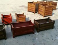 FRP flower boxes