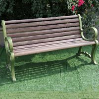 FRP garden chair is corrosion-resistant, maintenance-free, wood-like, odorless, long-term use