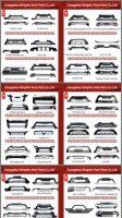 ABS Material Car Parts Bull Bar Bumper Protector Auto Front Rear Bumper Guard for SUV Cars