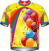 LADIES AND UNISEX SHORT SLEEVED CYCLING JERSEYS