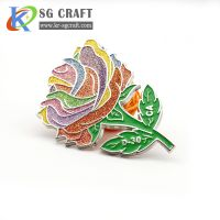 Professionally custom high quality metal lapel pin with logo your own design