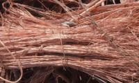 Copper Wire Scrap with 99.99% copper content, uncoated, clean unalloyed copper wire  COMMODITY:   Copper Wire Scrap, (Millberry) 99.99%
