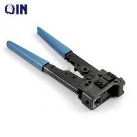 Crimping Piler Tool Carbon Steel AMP Plug Crimping Tool , 8P8C/RJ45 Network Crimping Tools