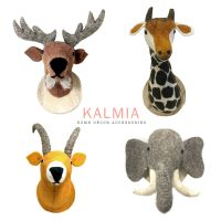 Wool Felt Animal Plush Wall Decoration