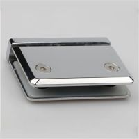 Heavy stainless steel hinges for glass door