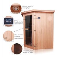 Portable mini sauna room
