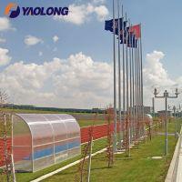 40ft Commercial Grade Aluminum External Halyard Flagpole