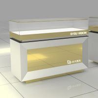 Jewelry shop counter jewelry showcase kiosk