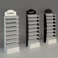 Custom nail polish racks display stand metal nail polish floor display stand