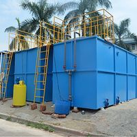 PACKAGE MBR WWTP OF WATER FILTER MEMBRANE