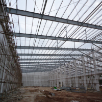 Two Storeys Steel Structure Workshop