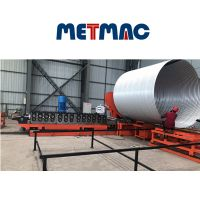 STEEL CORRUGATED PIPE MANUFACTURE MCHINE