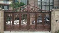 Aluminum Art Courtyard Gate of Villa