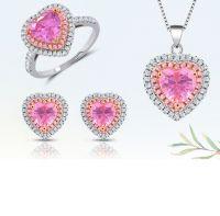 Hot Sale Stylish Modern Love Heart Jewelry Set