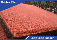 Rubber tiles for children's play area with EN1177 standard