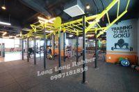 EPDM rubber mat for gym flooring