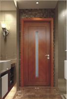 New European solid wood composite paint door bedroom soundproof swing entry door