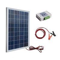 ECO-WORTHY 25W 12V Off Grid Solar Panel System