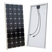 ECO-WORTHY 100W 12V Monocrystalline Solar Panel