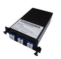 MPO Lgx Cassette Module, 12 Fibers, LC Duplex Adapters