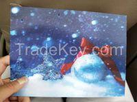 Lenticular cards  3D  5D