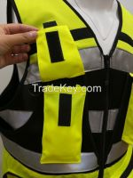 High Visibility Reflective Safety Sports anti - collision Vest for pub