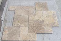 Opus Romano Pattern in Portuguese Limestone