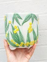 Hand Painted Ceramic Pots & Planter