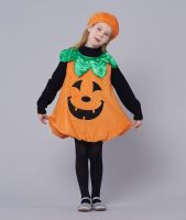 Kids Halloween Pumpkin Costumes