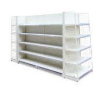 Heavy Duty Cold-rolled Steel Supermarket Displaying Rack Gondola Supermarket Shelves