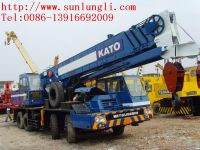 Used tadano KATO NK500E-V truck crane