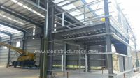 Prefabricated Warehouse and Office Building