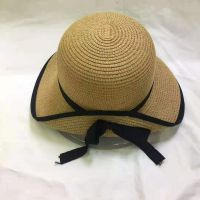 wholeseller fashion lady straw sun hats, trend women floppy beach hat, elegant paper hat, recycle customized fashion accessories