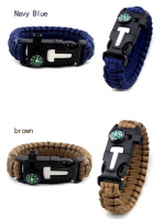 2020 New Products Camping Product Stainless Steel Bracelet, Daily gift custom multifunctional Bracel