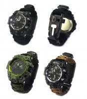 Gifts Outdoor Gadget Carabiner Watch, Watches 2020 Multifunctional Survival Luxury Watch