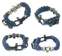 Popular Product Traveling Equipment Multi-function Bottle Opener Bracelet, Hot Sale Survival Colorfu