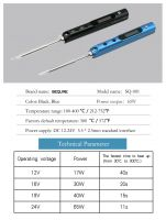 Upgraded version of TS100   Mini Smart portable 65W soldering iron   DC 12-24V power supply   SQ-001 electric soldering iron