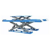 GROUND HIDDEN DOUBLE LEVEL SCISSOR LIFT  WHEEL ALIGNMENT