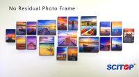 No residual photo frame