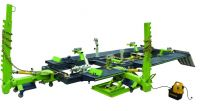 Auto body frame straightening rack machine