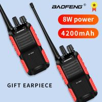 BF-999S Plus 999S Walkie Talkie Baofeng 8W /5W 4200mAh USB charger Long Distance Portable Two Way Radio Upgrade BF-888s cb