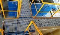 China Factory Customized Rectangular FRP Fiberglass Pultruded Grating for Construction